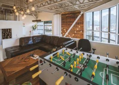 vancouver digital advertising agency war room foosball