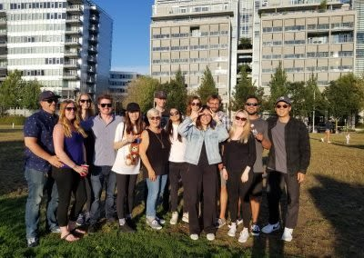 vancouver digital advertising agency war room company culture summer outing
