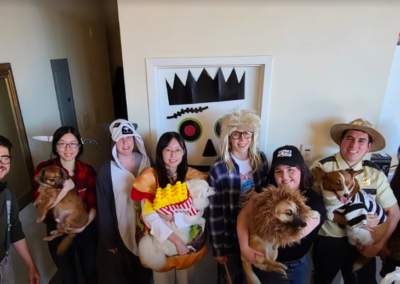 vancouver digital advertising agency war room company culture halloween party