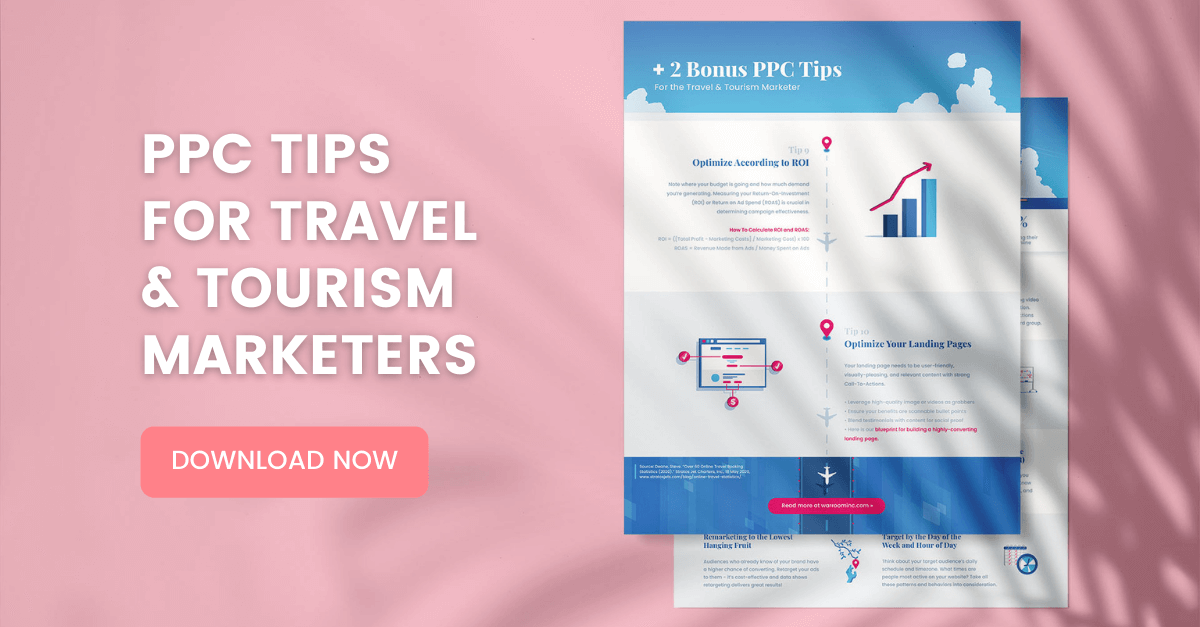 PPC Tips for Travel & Tourism Marketers War Room digital advertising resource download