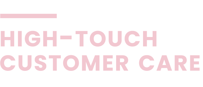 programmatic advertising high touch customer care